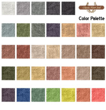 Concrete Stain Color Patches
